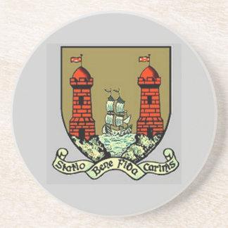 Escudo de armas para el corcho Irlanda Posavasos Cerveza