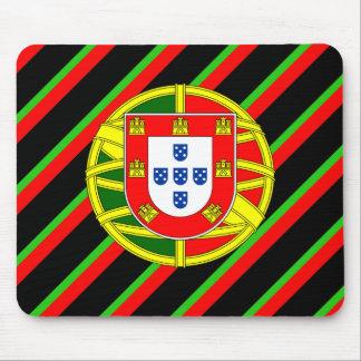Escudo de armas portugués alfombrilla de ratón