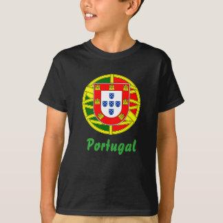 Escudo de armas portugués camiseta