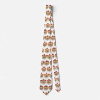 Escudo de armas real danés del vintage de corbata personalizada