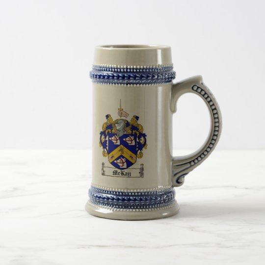 Escudo de armas Stein de Mckay Jarra De Cerveza