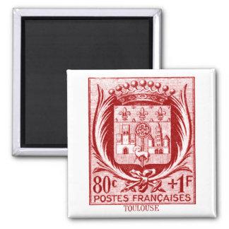 Escudo de armas, Toulouse Francia Imán Para Frigorifico