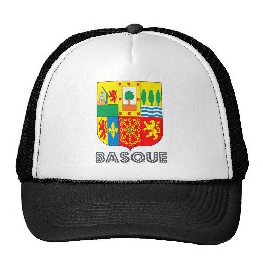 Escudo de armas vasco gorra