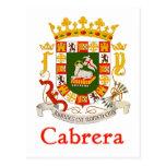 Escudo de Cabrera de Puerto Rico
