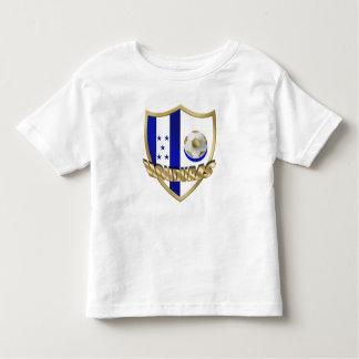 Escudo de Catrachos del La del emblema del Camiseta De Bebé