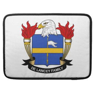 Escudo de De Lancey Family Fundas Para Macbook Pro