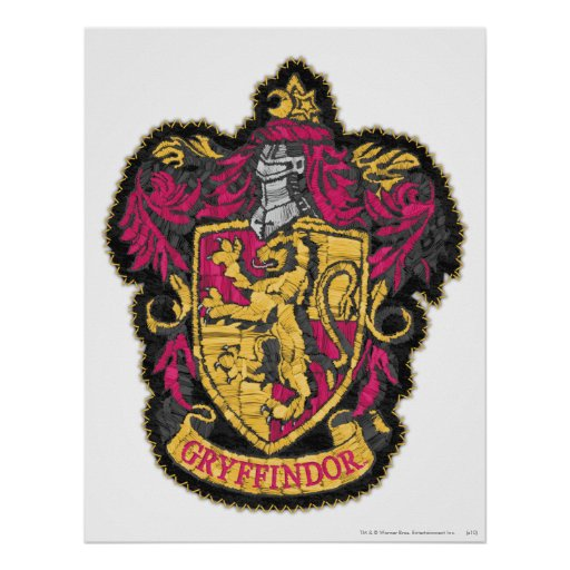Escudo de Gryffindor Impresiones