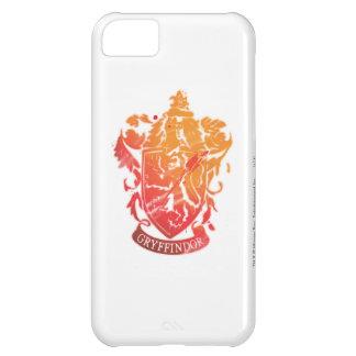 Escudo de Gryffindor - salpicado Funda Para iPhone 5C
