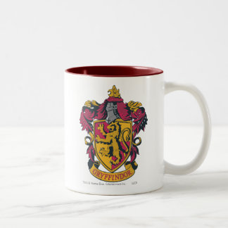 Escudo de Gryffindor Taza De Café De Dos Colores
