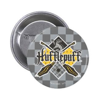 Escudo de Harry Potter el   Gryffindor QUIDDITCH™ Chapa Redonda De 5 Cm