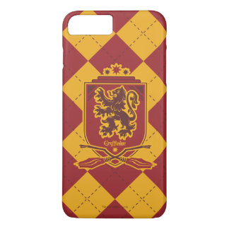 Escudo de Harry Potter el | Gryffindor Quidditch Funda iPhone 7 Plus