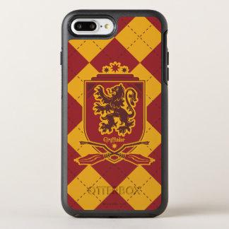 Escudo de Harry Potter el | Gryffindor Quidditch Funda OtterBox Symmetry Para iPhone 7 Plus