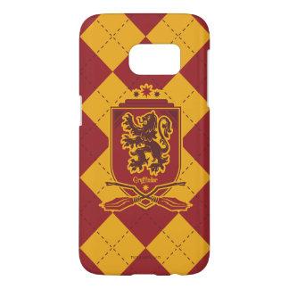 Escudo de Harry Potter el | Gryffindor QUIDDITCH™ Funda Samsung Galaxy S7