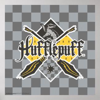 Escudo de Harry Potter el   Gryffindor QUIDDITCH™ Póster