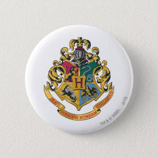 Escudo de Harry Potter el | Hogwarts - a todo Chapa Redonda De 5 Cm