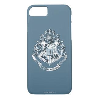 Escudo de Harry Potter el | Hogwarts - azul Funda iPhone 7