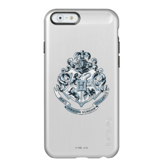 Escudo de Harry Potter el | Hogwarts - azul Funda Para iPhone 6 Plus Incipio Feather Shine
