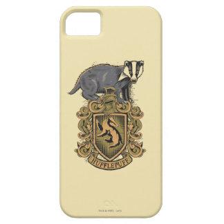 Escudo de Harry Potter el | Hufflepuff con el Funda Para iPhone SE/5/5s