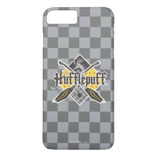 Escudo de Harry Potter el | Hufflepuff Quidditch Funda iPhone 7 Plus