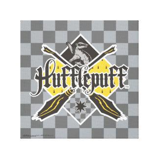 Escudo de Harry Potter el   Hufflepuff Quidditch Impresión En Lienzo