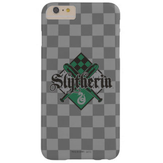 Escudo de Harry Potter el | Slytherin Quidditch Funda Barely There iPhone 6 Plus
