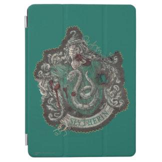 Escudo de Harry Potter el | Slytherin - vintage Cover De iPad Air