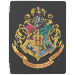 Escudo de Hogwarts a todo color Cover De iPad