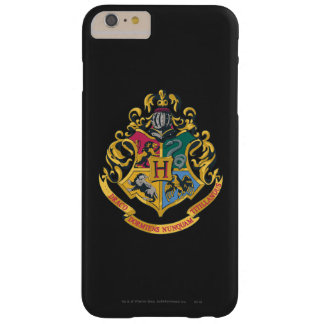 Escudo de Hogwarts a todo color Funda De iPhone 6 Plus Barely There