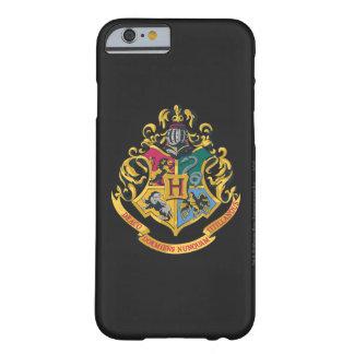 Escudo de Hogwarts a todo color Funda Para iPhone 6 Barely There