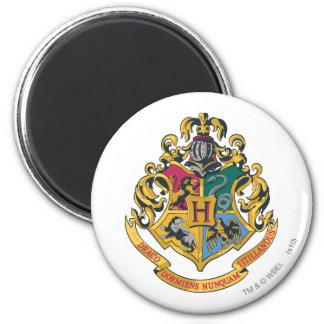 Escudo de Hogwarts a todo color Iman De Nevera