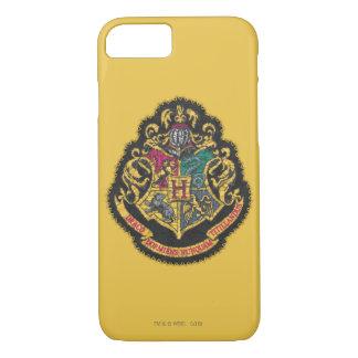 Escudo de Hogwarts del vintage de Harry Potter el Funda iPhone 7