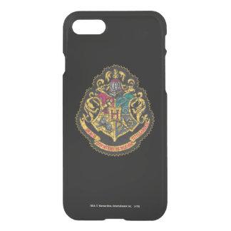 Escudo de Hogwarts del vintage de Harry Potter el Funda Para iPhone 8/7
