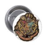 Escudo de Hogwarts - destruido Chapa Redonda De 5 Cm