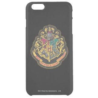 Escudo de Hogwarts - destruido Funda Clear Para iPhone 6 Plus