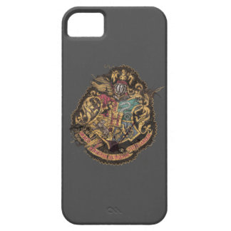 Escudo de Hogwarts - destruido iPhone 5 Cobertura
