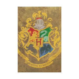 Escudo de Hogwarts Impresiones En Lona Estiradas