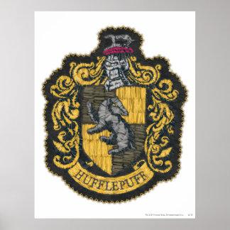Escudo de Hufflepuff Póster