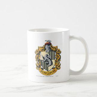 Escudo de Hufflepuff Taza De Café