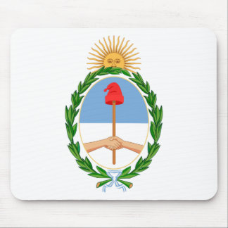 Escudo de la Argentina - escudo de armas de la Alfombrilla De Ratón