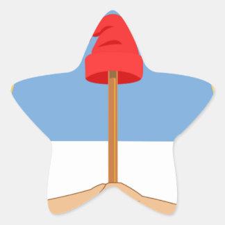 Escudo de la Argentina - escudo de armas de la Pegatina En Forma De Estrella