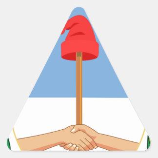 Escudo de la Argentina - escudo de armas de la Pegatina Triangular