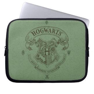 Escudo de la bandera de HOGWARTS™ Funda Para Portátil