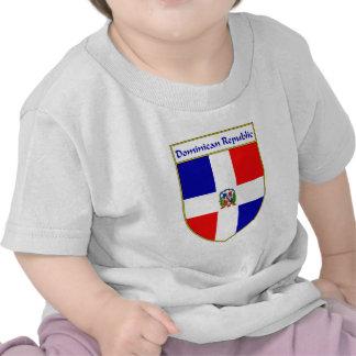 Escudo de la bandera de la República Dominicana Camiseta