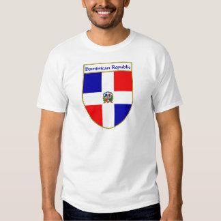 Escudo de la bandera de la República Dominicana Camisetas
