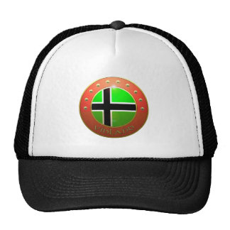 Escudo de la bandera de Vinland Gorro De Camionero