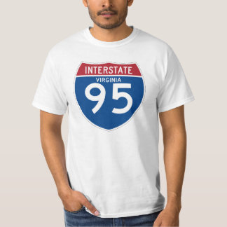 Escudo de la carretera nacional de Virginia VA Camiseta
