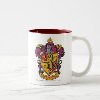 Escudo de la casa de Harry Potter el | Gryffindor Taza Bicolor