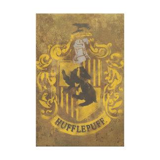 Escudo de la casa de Hufflepuff Impresión En Lona