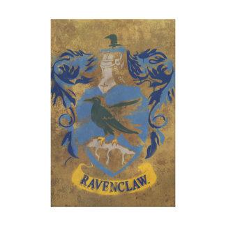 Escudo de la casa de Ravenclaw Impresion De Lienzo