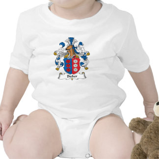 Escudo de la familia de Bieber Camisetas